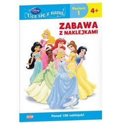 Disney Ucz się z nami Księżniczka Zabawa z naklejkami (opr. broszurowa)