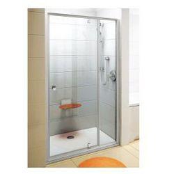 Drzwi prysznicowe PDOP2-110 Ravak Pivot obrotowe piwotowe dwuelementowe 03GD0101Z1