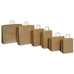 Papierowa torebka Lanex P4/10szt. duża szara