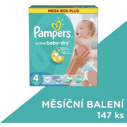 Pampers Active Baby Mega Box Plus