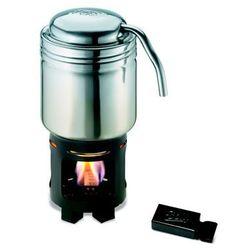 turystyczny ekspres do kawy z ze stali nierdzewnej stali do mocny paliwo stałe Esbit 20102400