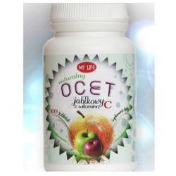 Ocet jabłkowy z witaminą C tabl. - 100 tabl.