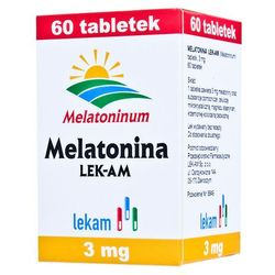 MELATONINA 3 mg 60 tabletek