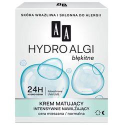 AA Hydro Algi Błękitne Krem matujšcy na dzień i noc - cera normalna i mieszana 50ml