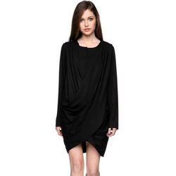 Sukienka z guzikami czarna