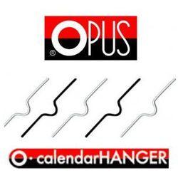 200 mm, Zawieszki do kalendarzy Opus, metalowe zawieszki do kalendarza [500szt.]