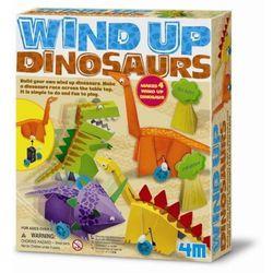 4M, zestaw kreatywny Nakręcane Dinozaury