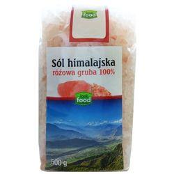 LOOK FOOD 500g Różowa Gruba 100% Sól Himalajska