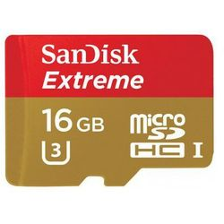 Karta pamięci SANDISK Extreme microSDHC 16GB
