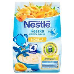 NESTLE 230g Kaszka mleczno ryżowa z morelami po 4 miesiącu
