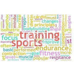 Plakat Szkolenie sportowe