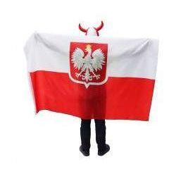 FLAGA Polska - KIBICA Z ORŁEM 120X180 CM