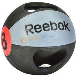 Piłka lekarska z podwójnym uchwytem 8kg Reebok Dostawa GRATIS!