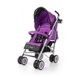 Milly Mally Meteor wózek spacerowy spacerówka parasolka purple