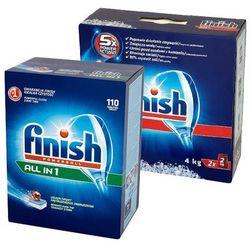 Zestaw FINISH 110szt Powerball All in 1 Tabletki + FINISH 4kg Special