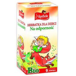 Herbatka dla dzieci na odporność BIO - Apothehe