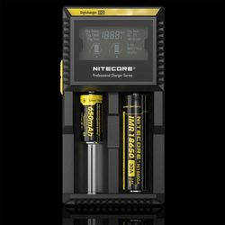 ładowarka do akumulatorów cylindrycznych Li-ion, LiFePo4, Ni-MH Nitecore Digicharger D2 EU