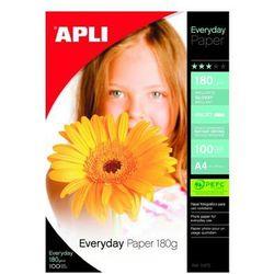 Papier fotograficzny APLI Foto Everyday Photo A4 180g/m2 100ark.