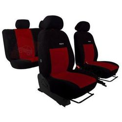 Pokrowce samochodowe ELEGANCE Bordowe Hyundai i20 II od 2014 - Bordowy