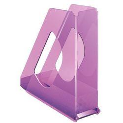 Pojemnik Esselte Europost Solea A4/70mm, 623568 przezroczysty-fiolet
