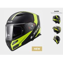 KASK LS2 FF324 METRO RAPID BLACK YELLOW
