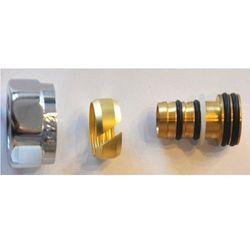 Złączka zaciskowa do rury z tworzywa sztucznego PEX GW M22x1,5-16x2 Schlosser 6026 00006 Chrom