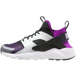 Nike Sportswear AIR HUARACHE RUN ULTRA Tenisówki i Trampki black/wolf grey/hyper volt/purple