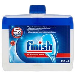 FINISH 250ml 5x Power Actions Płyn do czyszczenia zmywarki
