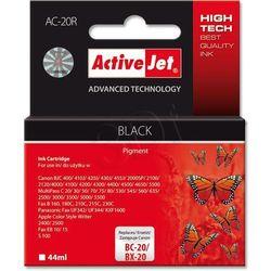 ActiveJet AC-20R tusz czarny do drukarki Canon (zamiennik Canon BC-20, BX-20) Premium- wysyłka dziś do godz.18:30. wysyłamy jak na wczoraj!