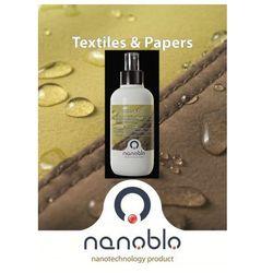 NANO Impregnat NanoBlo 250ml EcoPassport Ochrona Skór Odzieży Tekstyliów Nowość