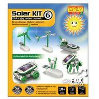 Edukacyjna zabawka solarna ROBOT SOLARNY 6w1