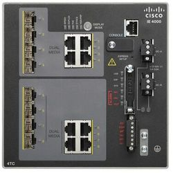 IE-4000-4TC4G-E Switch Cisco IE4000 w/ 4FE Copper combo ports and 4 GE combo uplink ports