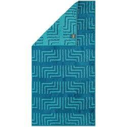 Cawö Frottier ręcznik Decor turkus, 30 x 50 cm