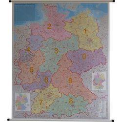 Niemcy. Mapa ścienna 1:750 000
