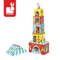 Piramida wieża ze zwierzątkami Cyrk, Janod