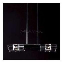 LAMPA wisząca MARS 119 12 12 01 MAXLIGHT metalowa OPRAWA ZWIS belka przezroczysty