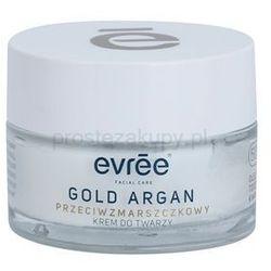 Evrée Gold Argan krem przeciw zmarszczkom 50+ + do każdego zamówienia upominek.