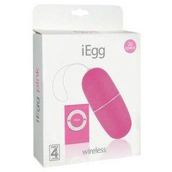 Wibrujące jajko iEgg MP3 Pink 20 funkcji