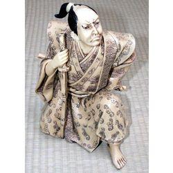 Figurka Samuraja - imitacja kości słoniowej (GAP56348)