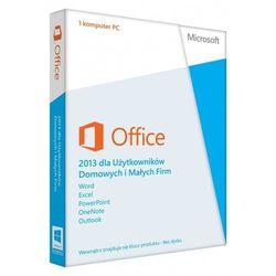 Microsoft Office Home & Business 2013 PL MLK (T5D-01753) - pakiet biurowy dla użytkowników domowych i małych firm