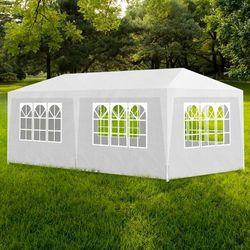 vidaXL Namiot imprezowy, pawilon ogrodowy, biały (3x6) Darmowa wysyłka i zwroty