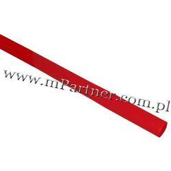 Rura termokurczliwa elastyczna V20-HFT 8/4 10szt czerwona