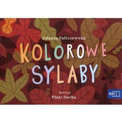 Odkrywam czytanie klasa 1 część 19 Kolorowe sylaby.