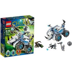 Lego CHIMA Legends of miotacz skał rogona 70131
