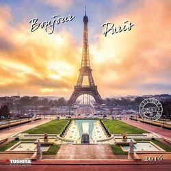 2016 Kalendarz ścienny Paryż
