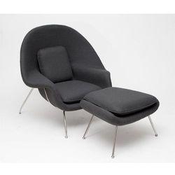 Fotel z podnóżkiem Snug