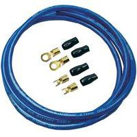Zestaw kabli zasilających Sinuslive BK-25M, 25 mm2, niebieski, 2 m