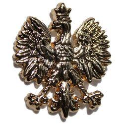 Pins - Godło RP - złote