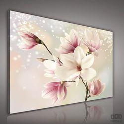 Obraz Kwiaty na srebrnym tle PP2134