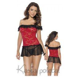 Roxana Mini Dress & String Model: 6562 Red XL Sukienka i stringi czerwone XL